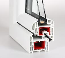 Plastová okna Bruntál - profil